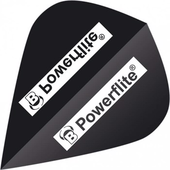 Powerflite Flights - Sort Kite - 6-pack