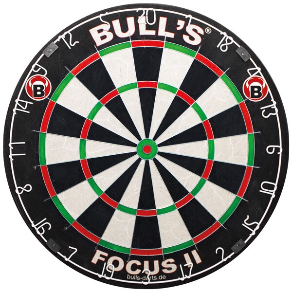 Bull´s Focus II Bristle Dartskive