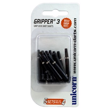 Gripper 3, 5-set value pack, Sort kort